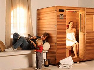 Sauna in your home